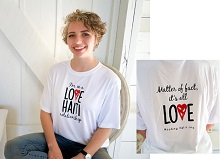 Show your friends your love of Haiti with thie cool dry-wicking t-shirt!