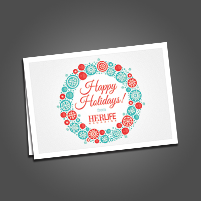 Folded Greeting Cards-Digital