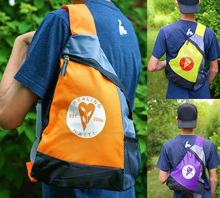 Healing Haiti Sling Backpack $6