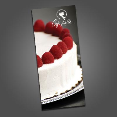 Cafe Latte Rush Brochures