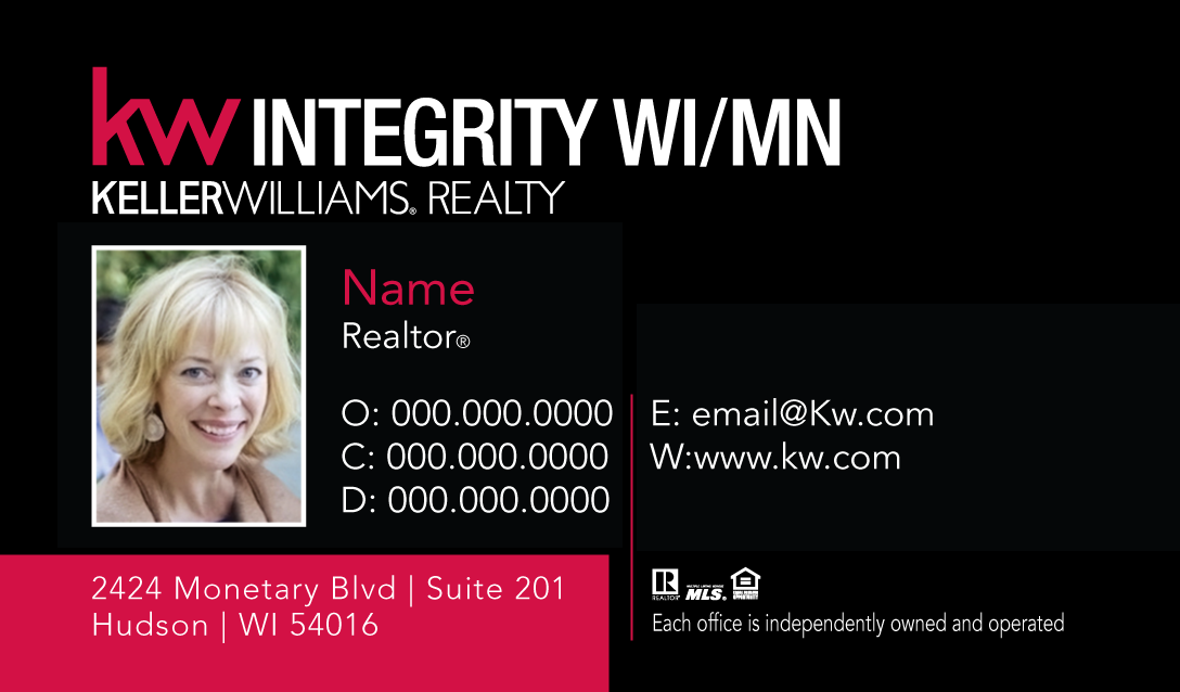 KW Business Cards