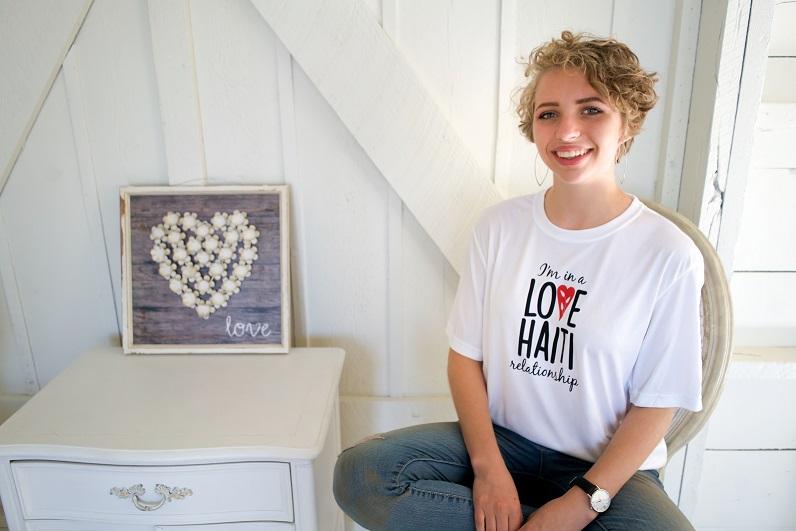Love Haiti Relationship T-Shirt $23