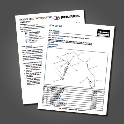 Power Engineering Collated Instruction Sheets