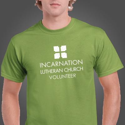 Incarnation Volunteer Tees