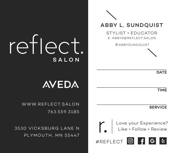 Reflect Salon BC Initial Order
