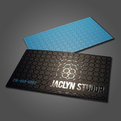 Silk Laminated Cards with Spot UV