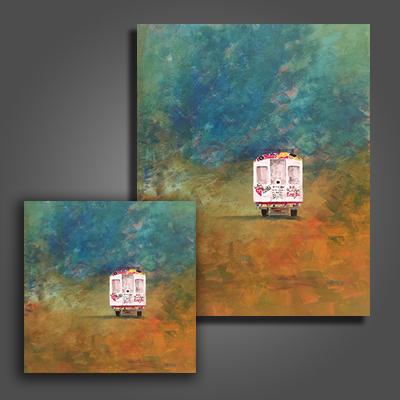 Tap Tap Canvas Print $60/$100