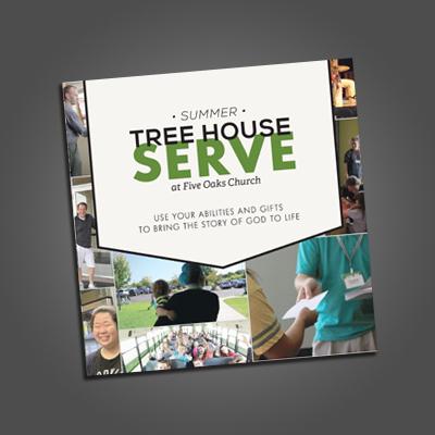 Five Oaks Summer Serve Brochure