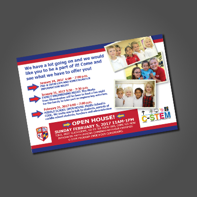 Sacred Heart End of Year Mailer