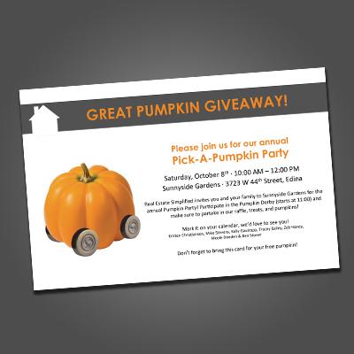 KW Christianson Pumpkin Mailer