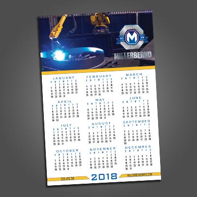 2019 Millerbernd Calendar Poster