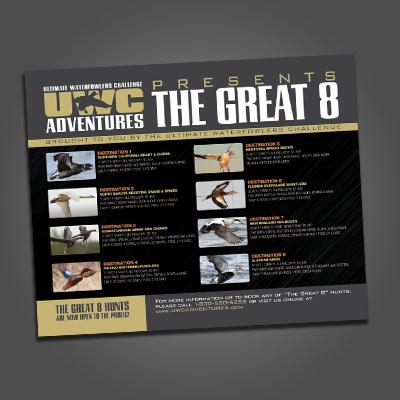UWC Great 8 Adventure Postcards