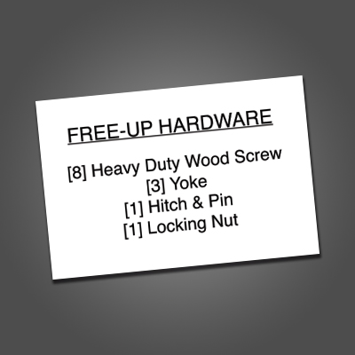 Haychix 3x2 Hardware Sticker