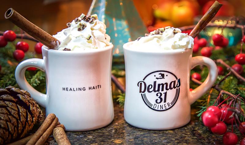 CLEARANCE! Delmas 31 Diner Coffee Mug Set $15