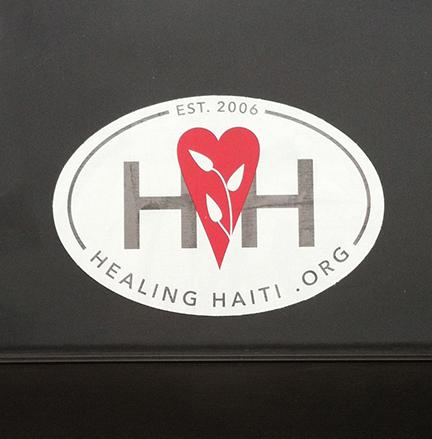 Healing Haiti Window Sticker $2