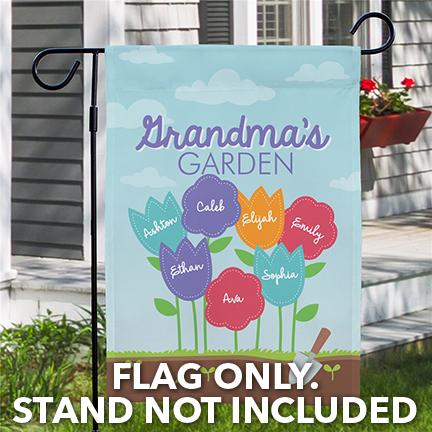 Fabric Garden Flags
