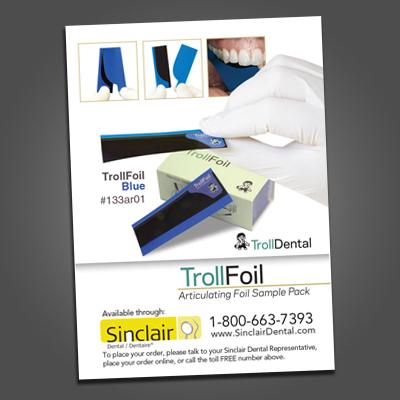 Troll Foil Insert Cards