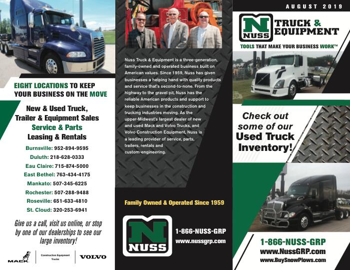 Nuss Truck Brochures