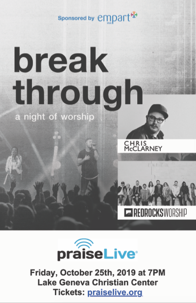 Praise Live Poster