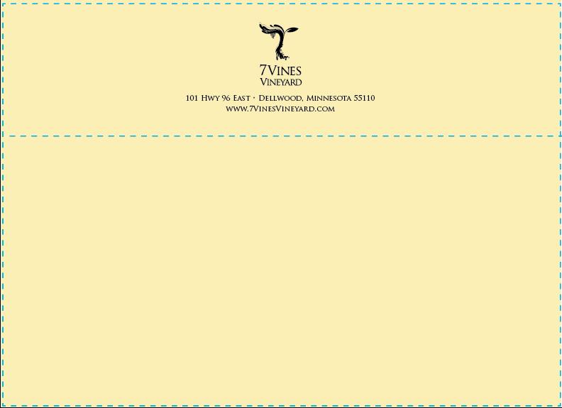 7Vines A7 Natural Envelopes