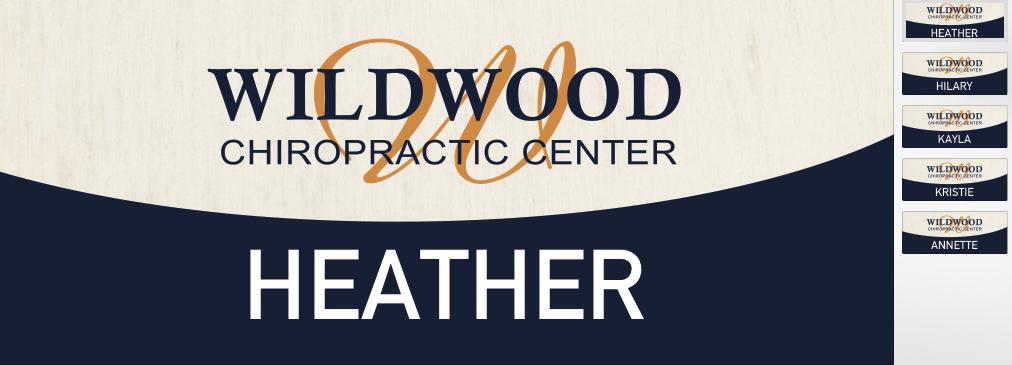 Wildwood Chiropractic Nametags