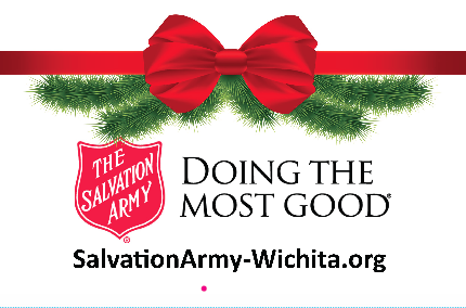Salvation Army Kettle Toppers -Wichita