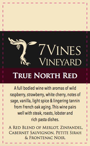 7VV Wine Shelf Talkers
