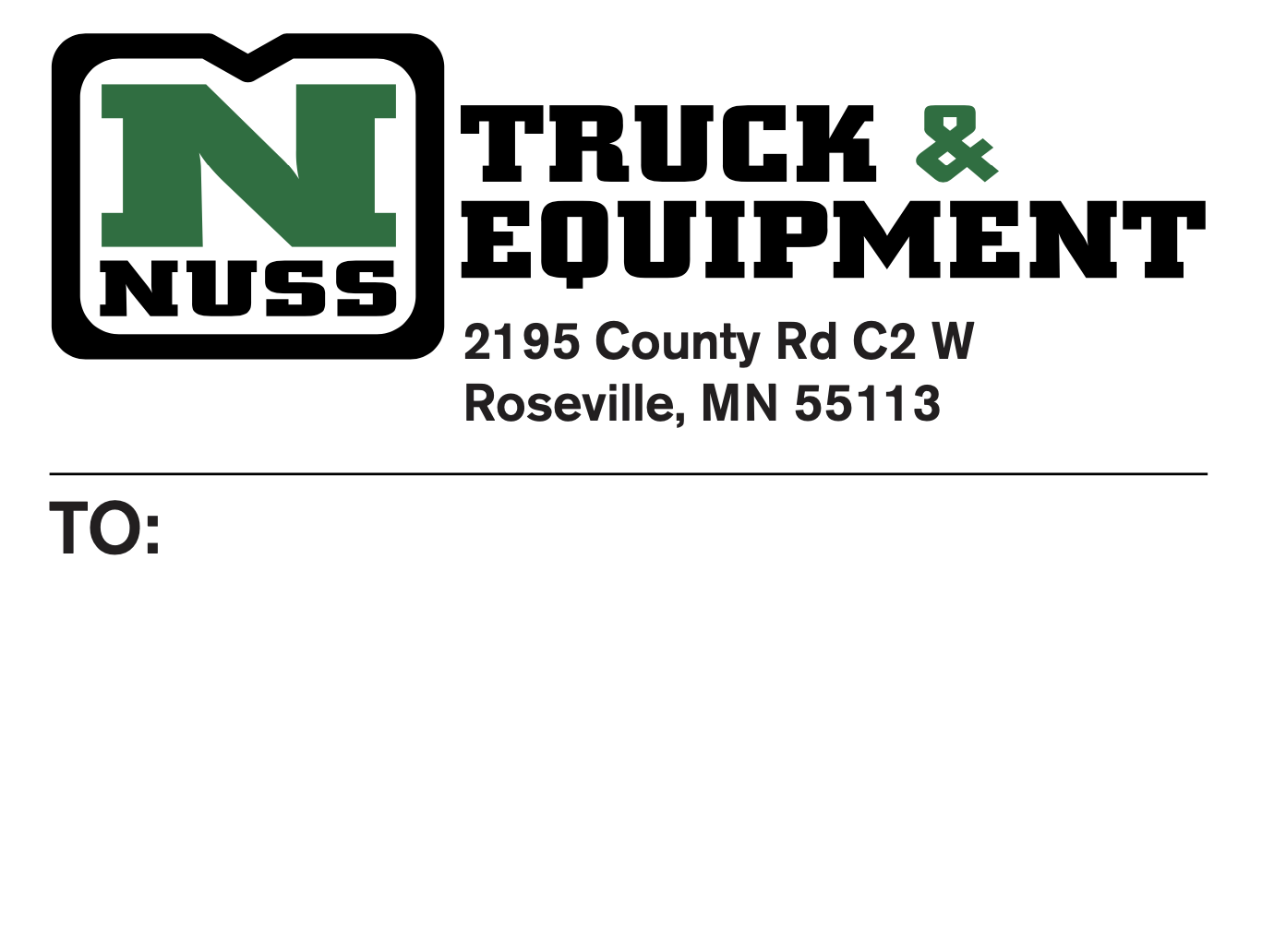Nuss 4x3 Mail Labels