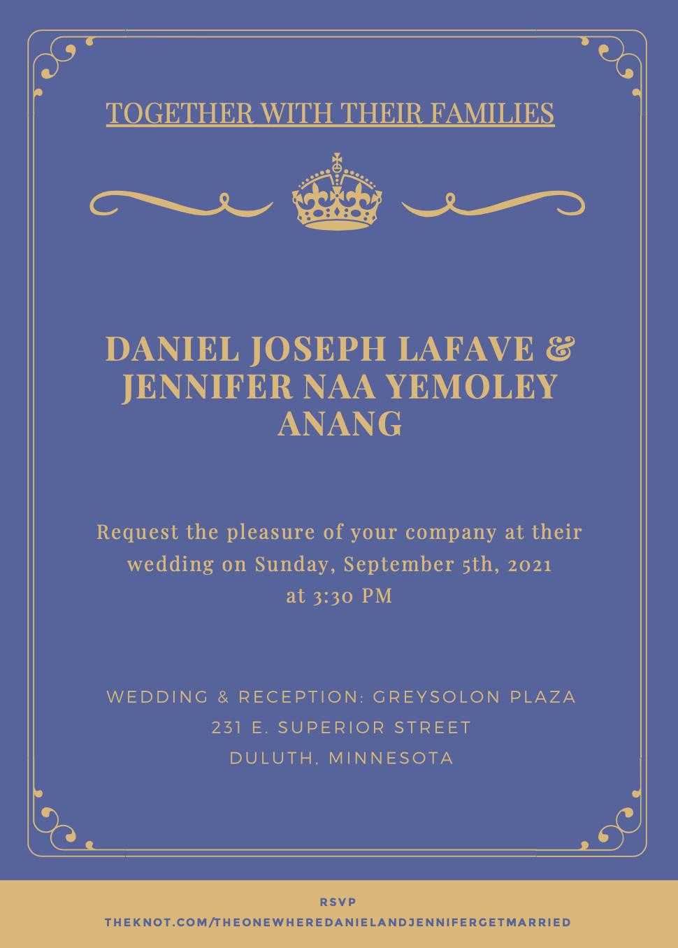 Anang LaFave wedding
