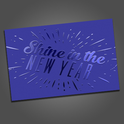 Spot UV Postcards