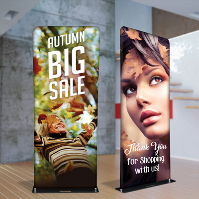 Fabric Tube Banners
