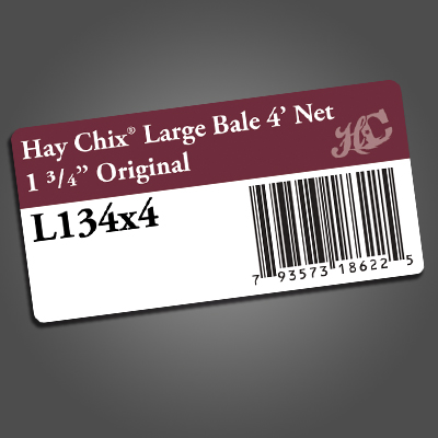 Haychix COLOR UPC Labels