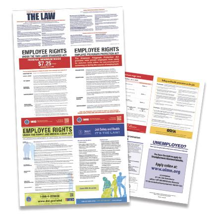Millerbernd Employment Posters