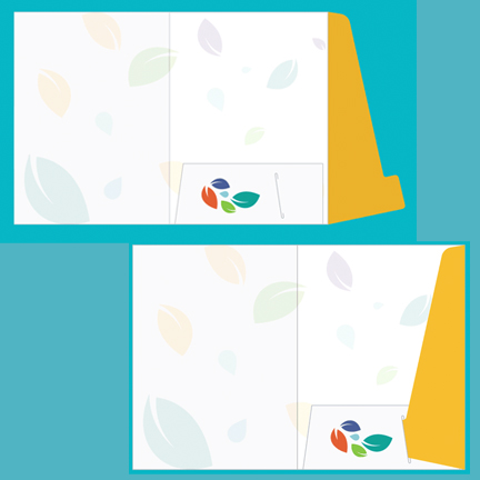 Glueless Pocket Folders
