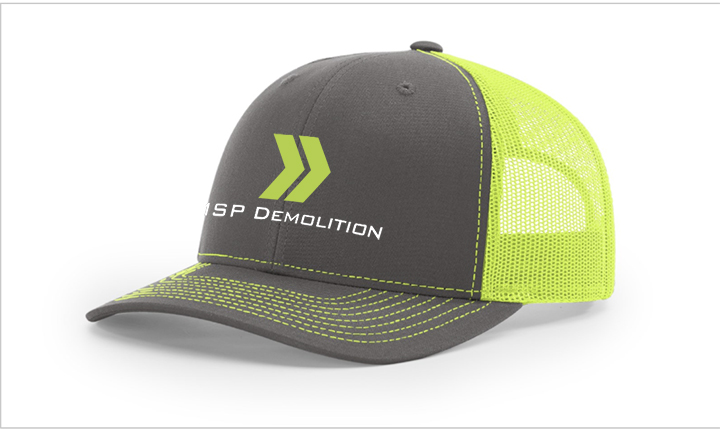 MSP Demolition Hats and stickers