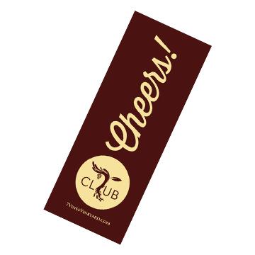7vv Wine Club Box Sticker